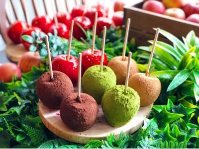 代官山で行列が絶えない、りんご飴専門店『Candy apple(キャンディーアップル)』 原宿明治通り沿いに3/6(金)に2号店をオープン