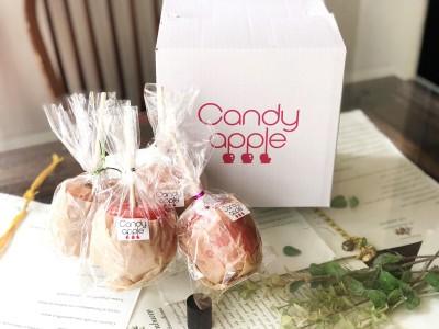 渋谷で行列の本格スイーツのりんご飴専門店『Candy apple』がクール便お取り寄せスタート!