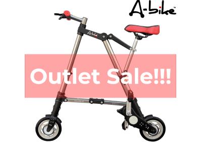 """携帯する自転車 """"A-bike"""" アウトレットセール開催!!!"""