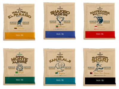 お家にいながら、世界6農園のスペシャルティコーヒーが気軽に楽しめる!キャラバンコーヒー「農園指定ドリパック」を発売!