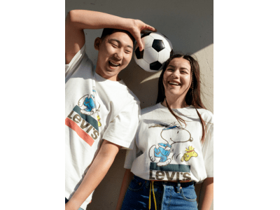 Levi's(R) × PEANUTS(R) SUMMER 2020 COLLECTION