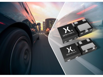 Nexperia、小型で堅牢性の高いリードレスDFNパッケージに封止した最も広範なAEC-Q101ディスクリート製品を発表