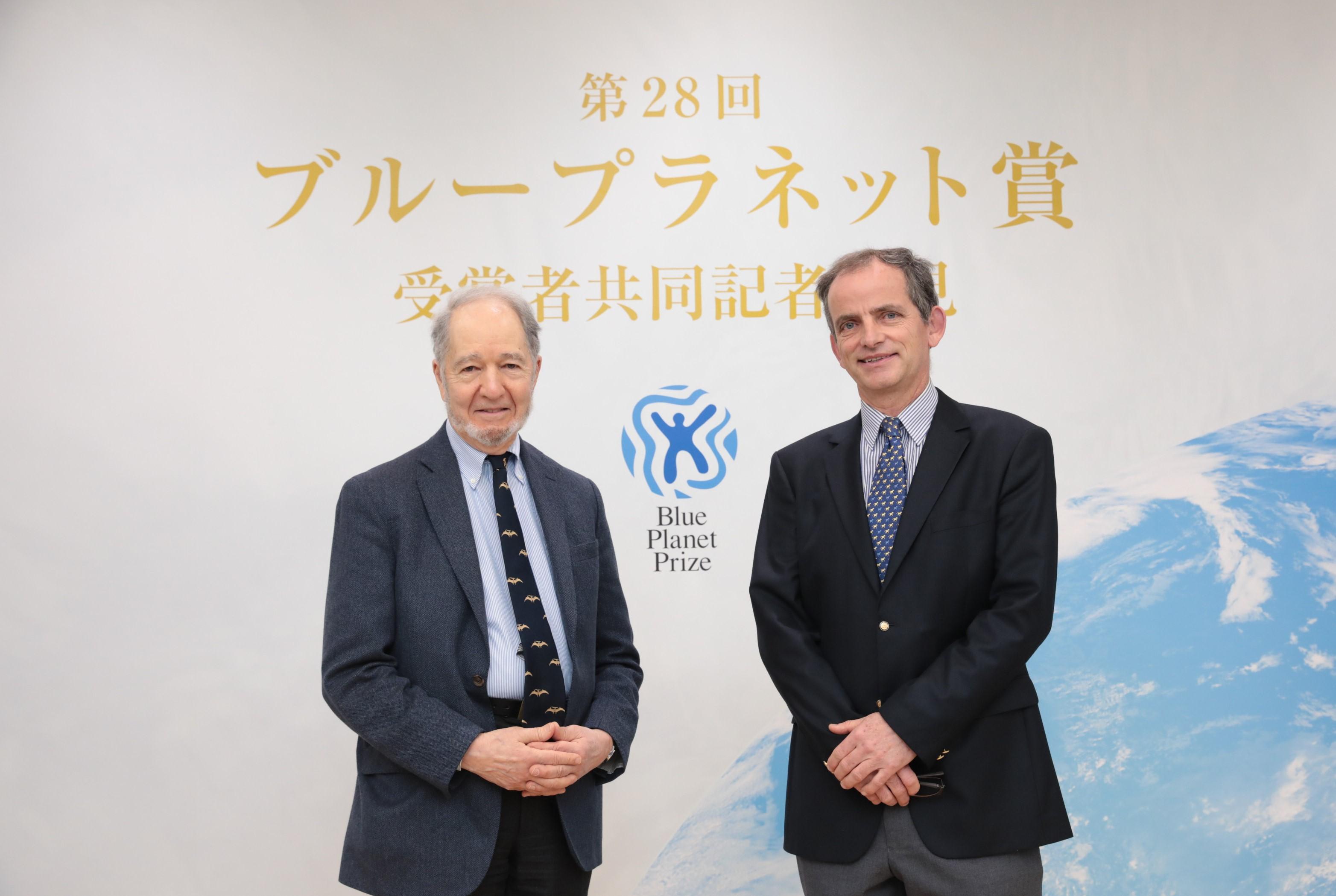 2019 年(第 28 回)ブループラネット賞 受賞者記者会見を実施 画像