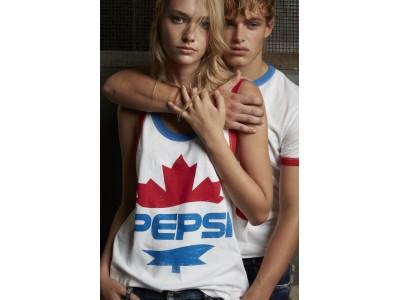 ペプシ x ディースクエアードの2020年春夏コレクションカプセルコレクションが登場