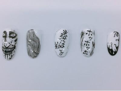 伊藤潤二『コレクション』×ネイルサロン「Venus Rico」のコラボが決定!EDテーマの先行配信もスタート!!