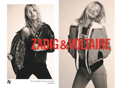 ケイト・モス:ザディグ エ ヴォルテールの新しいミューズ