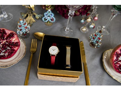 デンマークの時計ブランド「LLARSEN / エルラーセン」から、ホリデーシーズンにぴったりのWEB限定ギフトボックスとペアウォッチが登場