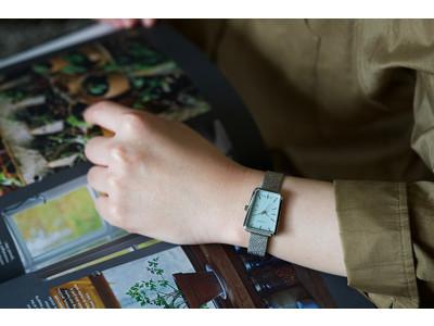 デンマークの時計ブランド「LLARSEN / エルラーセン」 ブランド初のスクエアタイプの新コレクション「Cecilie」と人気のTreasureコレクションの新色を発売。