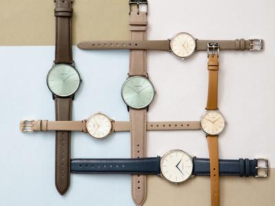 デンマークの腕時計ブランドLLARSEN / エルラーセン、腕時計ブランドで初めてECCO LEATHERを使用した日本上陸5周年記念限定モデルを発売。