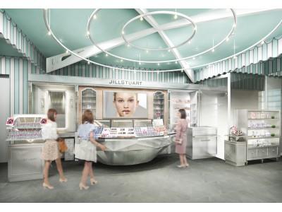 【ジルスチュアート ビューティ】伊勢丹新宿店に「ブリリアント ダイヤモンド」をコンセプトにした新店舗誕生!ブランド初のメイク動画持ち帰りサービスを実施