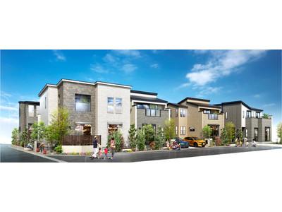 JR埼京線・快速停車「戸田公園」駅徒歩14分『マインドスクェア戸田公園』それぞれの家族の個性に寄り添う邸別プランニングの全10邸
