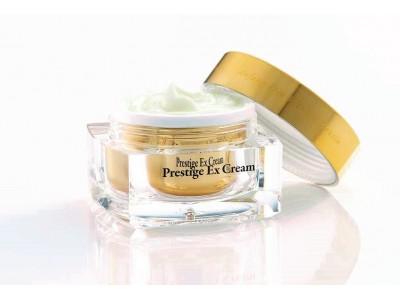 """韓国の美容皮膚科アビジュークリニックで開発された『エルツティン(ARZTIN) 』から、「イデベノン」成分配合の最上級ライン「""""塗るボトックス"""" プレステージEXクリーム」が発売。"""