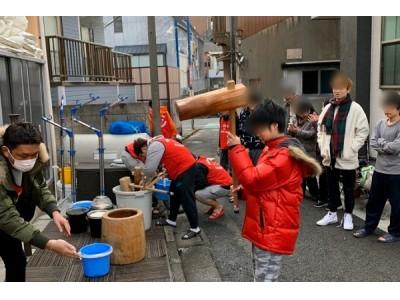 ご報告!不登校・ひきこもりの生徒たちの餅つき大会