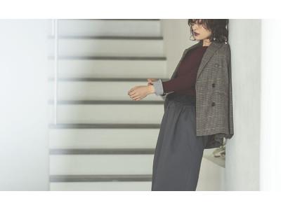 先行販売でも大好評!人気ファッションインフルエンサーAyaさんとコラボレーションした、「今の気持ち」に寄り添うトップスとスカート。