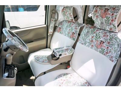 女性のためのカー用品専門店「KURUMARI(クルマリ)」に、ボタニカルデザイン・北欧デザインの新柄が登場しました!