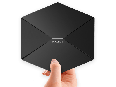 新発売!どんなモニターもワンタッチで無線モニターに早変わり「ミラーリングBOX by MAXHUB」国内販売スタート