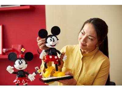 レゴ ディズニーシリーズにアイコニックなキャラクターが登場 レゴ(R)ディズニー ミッキーマウス & ミニーマウス