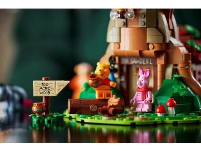 ファンのアイデアで実現した、ノスタルジックな大人向けセットが登場!レゴ(R)くまのプーさん セット