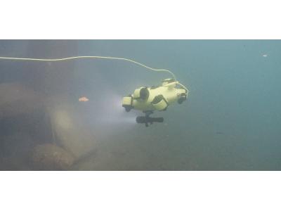 インフラ老朽化対策に一歩前進!水中撮影サービスを開始『水中ドローン・カメラ』を活用した調査・点検