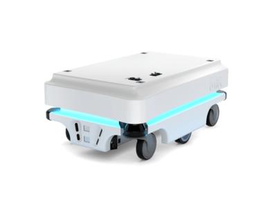 物流倉庫改革、はじめの一歩!自律走行搬送ロボット(AMR)「MiR100」1ヶ月お試しレンタルのご案内