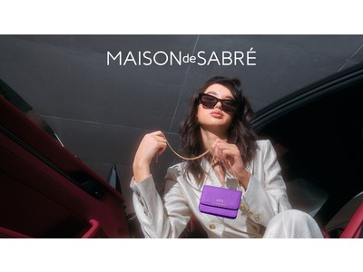 MAISON de SABREより待望の新作、ミニマルでファッショナブルなアクセサリーバッグ「マイクロクロスボディバッグ」が登場!