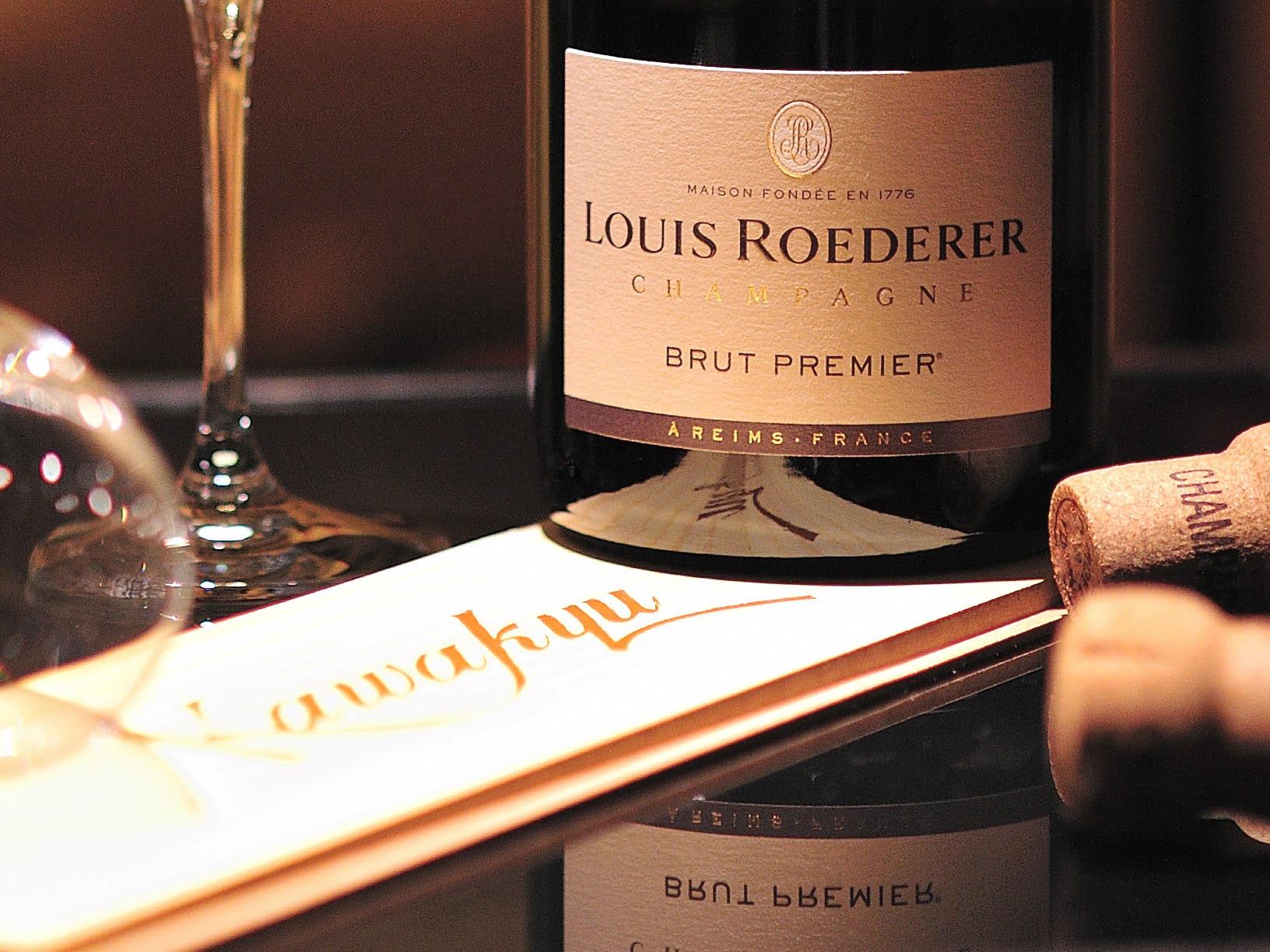 【ホテル川久】 春のシャンパンフェア開催。ワイン通が愛して止まない世界No.1のシャンパーニュメゾン【ルイ・ロデレール】のキュヴェが期間限定で登場。
