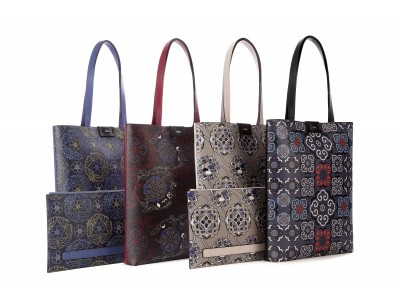 FURLA 西陣織からインスパイアされた日本限定バッグコレクションを発表。京都高島屋にてPOPUPストアも開催。