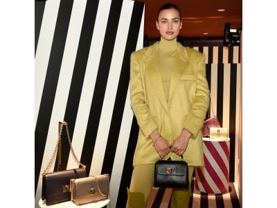 フルラ、ミラノにて2020秋冬コレクション展示会を開催。特別ゲストにスーパーモデルのイリーナ・シェイクが登場