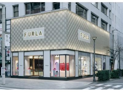 フルラ、銀座店ブランドロゴをリニューアル