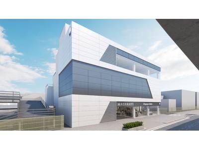 「マセラティ名古屋インター」4月17日グランド オープン オープンを記念しギブリ ハイブリッド、ギブリ トロフェオを日本初公開