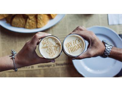 「乾杯!」できない時代の新たなビール体験を提案。リップルズが次世代ビールアートマシンの一般販売&リースを開始