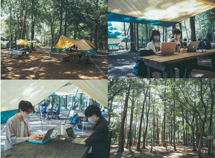 キャンプ場を学びの場に【School to go】トライアルを開始