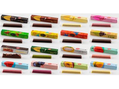 奥深いチョコレートの魅力を「種類」 「産地」 「工程」 「素材との組み合わせ」の4つのシリーズから発見できる!専門店「キットカット ショコラトリー」の商品を刷新
