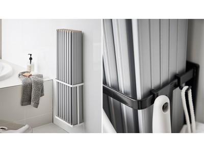 お風呂用の蓋をスッキリ収納できるアイテムや、風呂干しに便利な物干し竿ホルダーなど、新商品発売しました