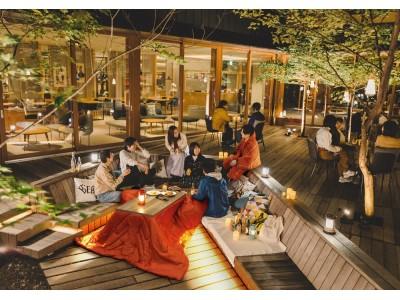 EQUALSで楽しむ!アウトドアリビングこたつCafe in星野リゾート BEB5 軽井沢
