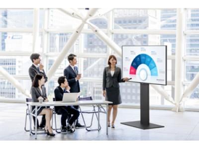 【SHARP  ×  WALLテレビスタンド】テレビメーカーが注目する、新しいテレビの使い方!シャープ株式会社監修、WALLテレビスタンドS1を発表!