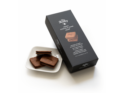 生はちみつ専門店「MYHONEY」から2020年4月1日、チョコクッキーサンド「ハニーショコラサンド リープ」が登場!グルテン・乳製品・砂糖・化学物質をカットし、生はちみつの優しい甘さで仕上げました。