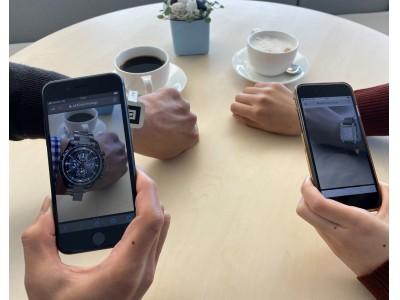 AR技術で「いつでもどこでもシチズンの時計を試着」