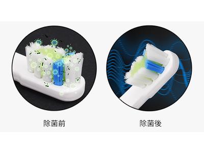外出やお泊り時に最適!いつも衛生的に!自動的にUV除菌できる折畳式電動歯ブラシ「Toosonic」