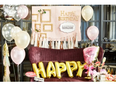 プロのアイディアが詰まった『バースデーパーティープラン』フルーツやお花がのった数字の誕生日ケーキも登場!