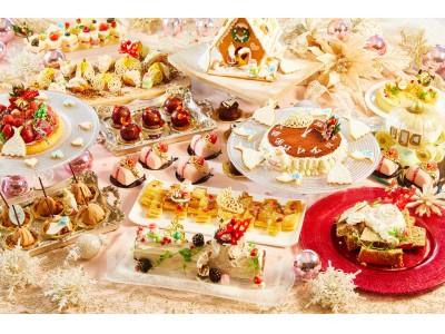 女の子の夢が詰まった人気のデザートブッフェが、限定クリスマスバージョンに!『プリンセス・シンデレラの舞踏会』~クリスマスの魔法~
