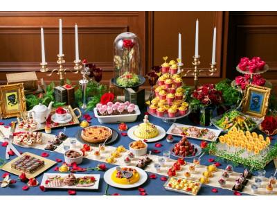 スイーツ&軽食約30種類が食べ放題「美女と野獣のクリスマスデザートブッフェ」開催