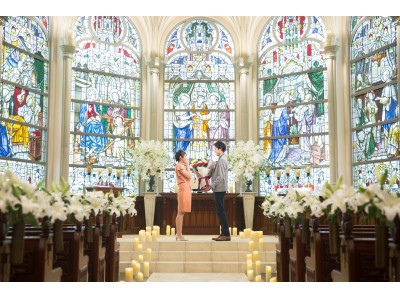 神聖なチャペルを特別貸し切り!プロポーズプロデューサーが全面サポートする『最高のプロポーズ』ベストブライダルグループ全ての結婚式場で受注開始