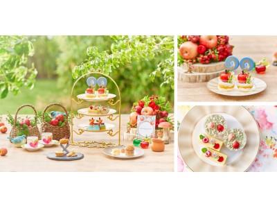 """広々としたラウンジは、ソーシャルディスタンスを確保!安心安全に楽しむPrincess Sweets Collection!「プリンセスアフタヌーンティー~世界で一番美しい""""白雪姫""""~」販売期間延長"""