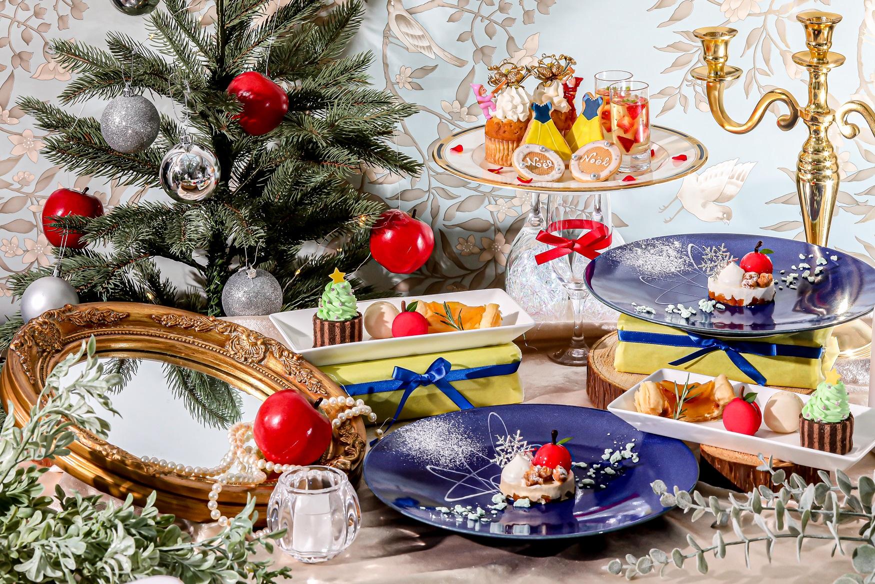 """可愛らしい""""白雪姫""""のクリスマスの世界へ『白雪姫のクリスマスティータイム~プリンセスアフタヌーンティー~』"""