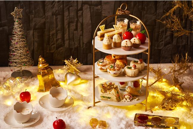 ホワイト×ゴールドがテーマカラーのクリスマスアフタヌーンティー「白雪姫のクリスマスティータイム」限定販売