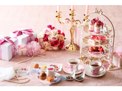 「プリンセスアフタヌーンティー~マリーアントワネット~」ファッションリーダーだったと言われる王妃の世界観を表現した優雅なアフタヌーンを限定販売