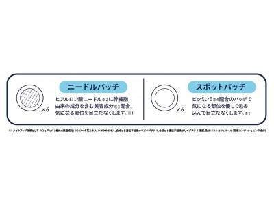 日本初上陸!韓国で大人気の異なる3種のトラブルケアパッチ発売 !