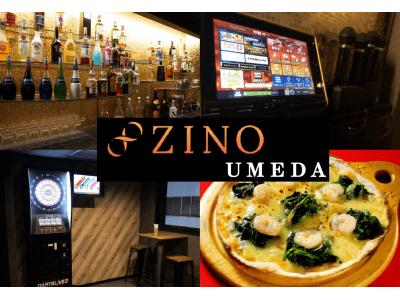 福岡で人気の「飲み放題+遊び放題」の大人が遊べるエンタメBARZINO(ジーノ)が関西初出店!ZINO UMEDA (ジーノ梅田)を3月6日(金)にオープン!!