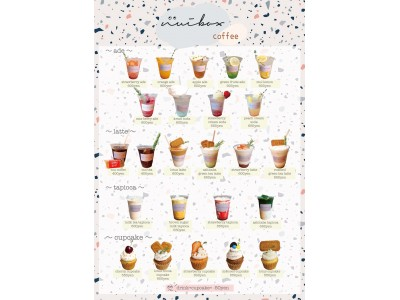 韓国風おしゃれカフェが誕生!韓国から取り寄せた雑貨とかわいいカップケーキ&フルーツを使ったドリンクを提供!!